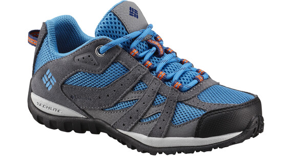 Columbia Youth Redmond Shoes Children Static Blue/Heatwave